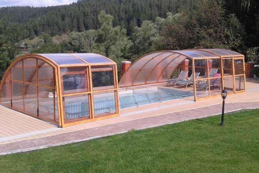 Coperture Mobili Per Piscina : Coperture telescopiche per piscine global infissi expert